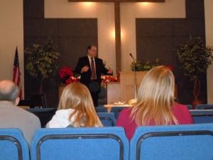 Pastor Gregg